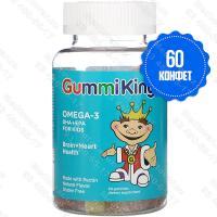GummiKing, Омега-3 ДГК и ЭПК для детей
